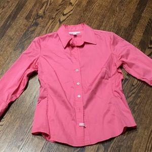 Banana Republic 3/4 sleeve shirt pink